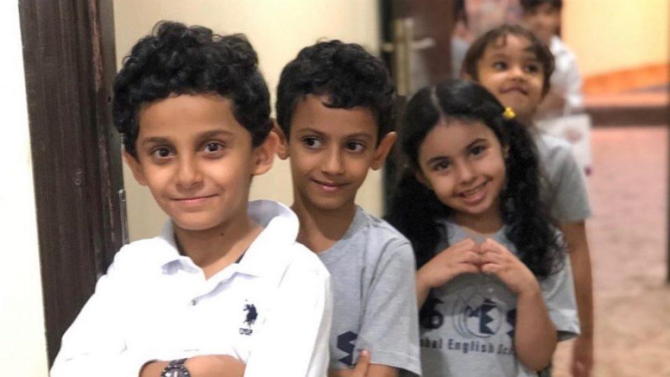 GES kids visit ZEC